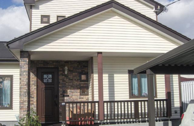 樹脂サイディング施工事例No.2  外気温マイナス5℃でも暖かく過ごせる家