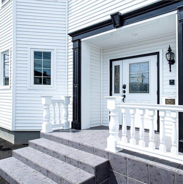 おしゃれに決める「外壁」と「玄関ドア」の組み合わせ!外壁リフォームのコーディネート方法