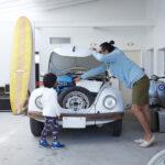 愛車と暮らす。カリフォルニア風ガレージハウスを実現する方法